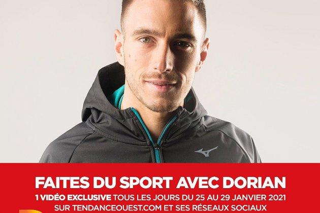 Faites du sport avec Dorian sur Tendance Ouest - jour 4