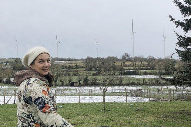 """Parc éolien suspendu dans l'Orne :""""Ce n'était plus possible"""" pour cette riveraine"""