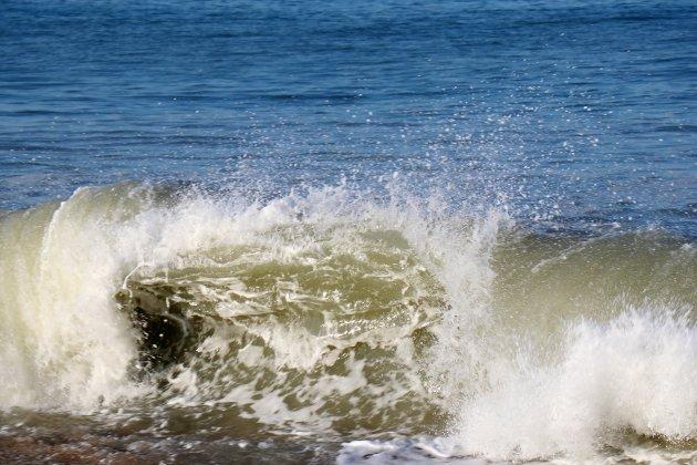 La tempête Justine de passage sur les bords de Manche