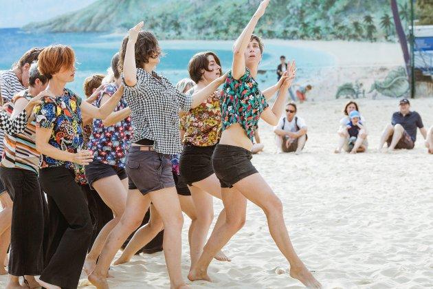 Waving:un nouveaucalendrier pour le projet de danse