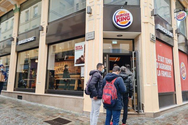 Burger King : une première ouverture dans un contexte sanitaire inédit