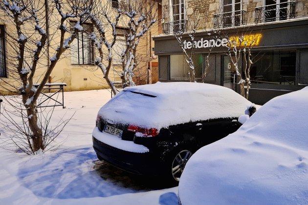 Sans surprise, le département s'est réveillé sous la neige