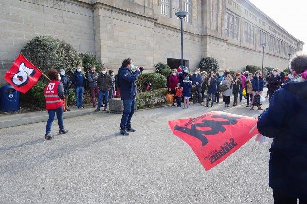 Les enseignants se mobilisent contre lacarte scolaire 2021