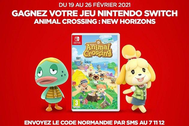 Gagnez le jeu Animal Crossing New Horizons sur Nintendo Switch
