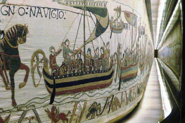 La tapisserie de Bayeux désormais visible depuis son canapé!