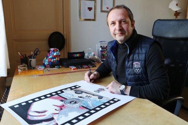 Vincent Gantois, l'amour de l'automobile et du cinémaau bout des feutres