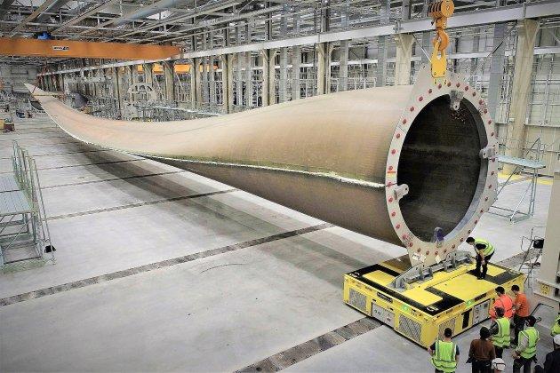 LM Wind Power: 300 postes à pourvoirà l'usine de pales d'éoliennes