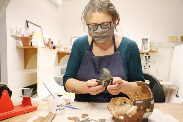 Des objets historiques restaurés auchâteau ducal