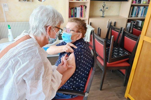Covid-19: les résidents de La Chênaie vaccinés