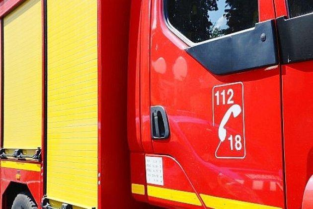 Quatre personnes transportées à l'hôpital après un incendie