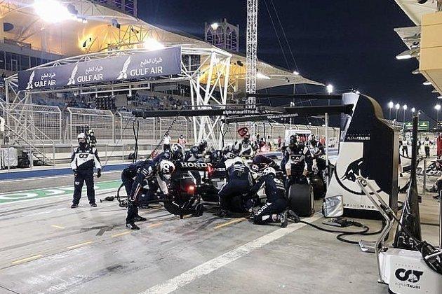 Mauvais départpour Gasly et Oconau Grand-Prix de Bahrein