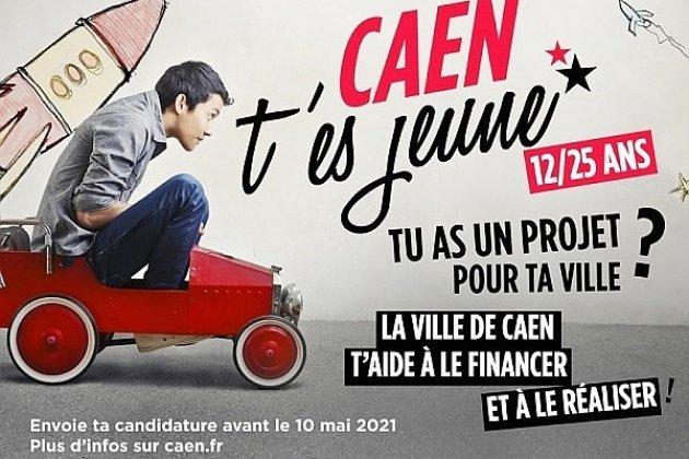 Caen t'es jeune: appel à projets pour les 12-25 ans