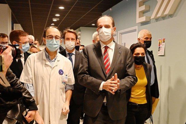 Construction du futur CHU : Jean Castex annonce 50 millions d'euros en plus