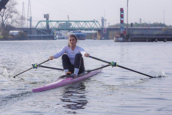 Margaux Bailleul, 21 ans, rêve d'une médaille olympique