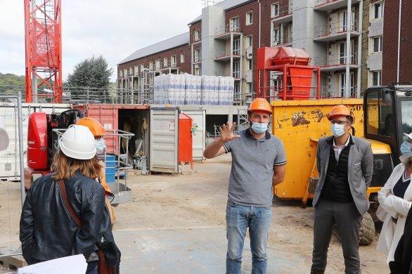 Des chantiers retardésen raison d'une pénurie de matériaux