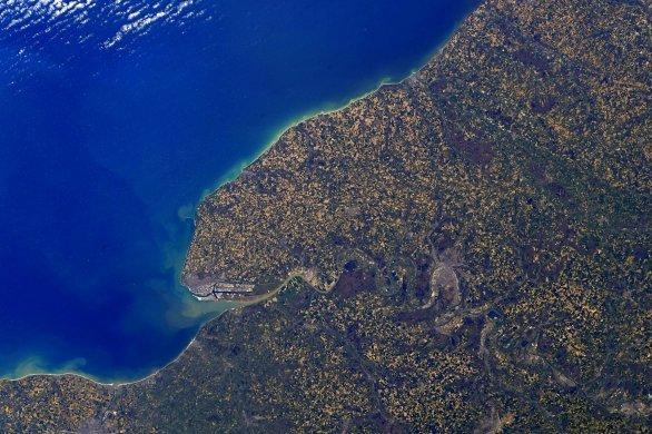 Thomas Pesquetpublie sa première photo de la Normandie depuis l'espace