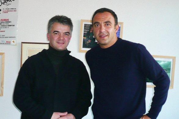 """La voix intérieure de Nikos Aliagas : """"L'âme ne meurt jamais"""""""