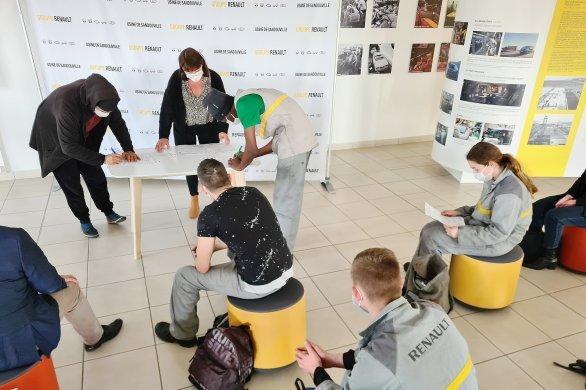 Renault, nouvelle formation pour les intérimaires
