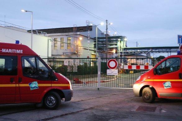 Deux amendes pour la dépollution du site de Lubrizol à Rouen