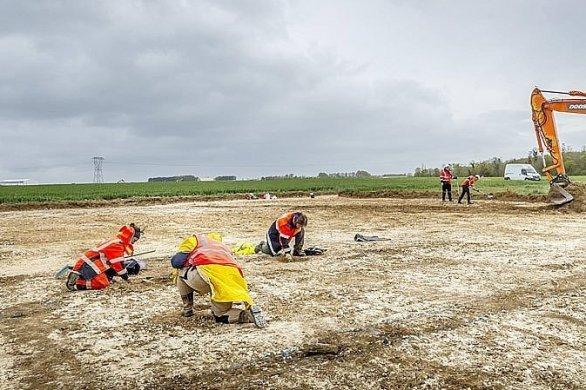 Un projet culturel autour des fouilles de Bretteville-sur-Laize