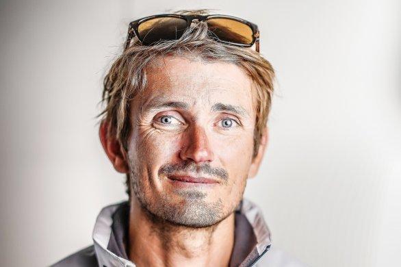 Le skipper caennais Fabien Delahayeparticipe à la Transaten double
