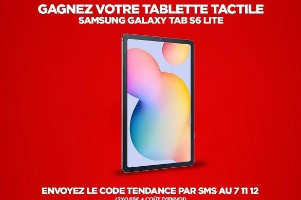 Gagnez une tablette Samsung avec Tendance Ouest