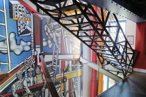 Pour colorer votre été,entrez en piste avec Fernand Léger!