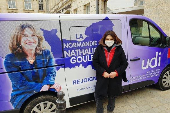 NathalieGoulet dément toutsoutien à la liste de Stéphanie Kerbarh