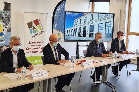 """Plan de relance:L'Aiglelabellisée """"Petite ville de demain"""""""