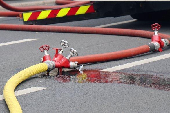 Une buanderietotalement détruitedans un incendie