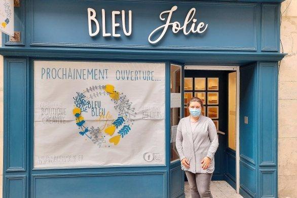 Bleu Jolie, une enseigne de loisirs créatifs