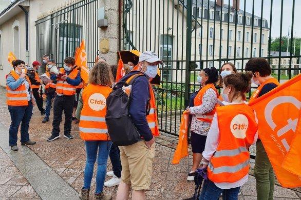"""Ils réclament leur """"Ségur de la Santé"""" au Conseil départemental"""