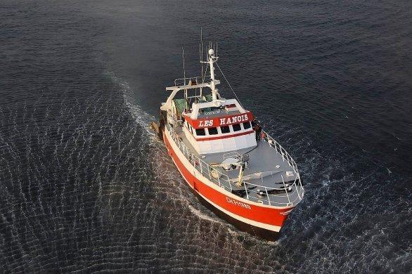 Un marin pêcheur évacué au large deGuernesey