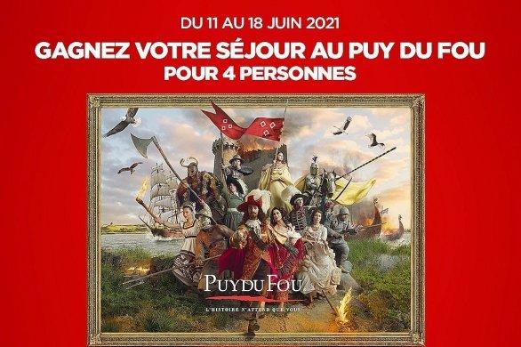 Jouez et partez en famille pour un séjour au Puy du Fou