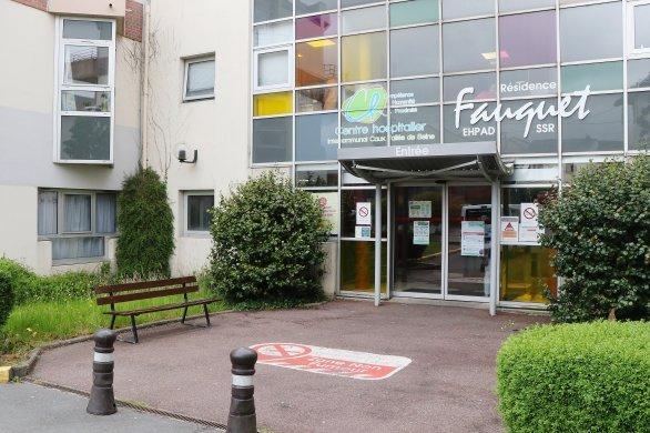 Reprise des visites à l'hôpital Caux Vallée de Seine
