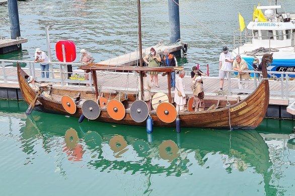 Le Langvin, un nouveau bateau viking sur les eaux de Normandie