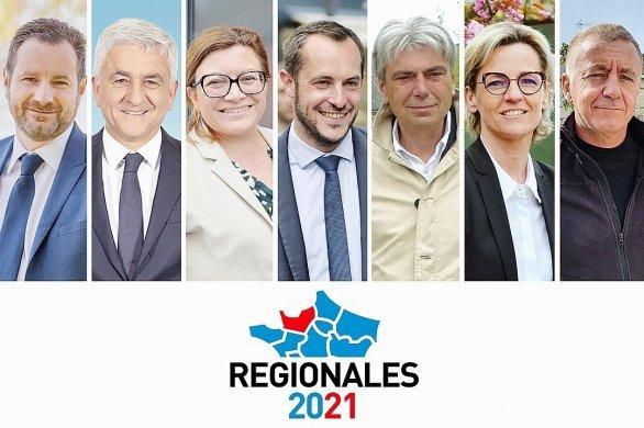 """Les sept candidats aux régionales se dévoilent """"Dans le miroir"""""""