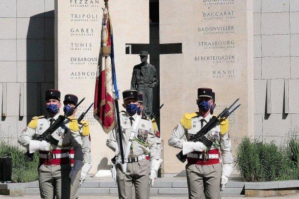 Le régiment de marche du Tchad sur les traces du général Leclerc