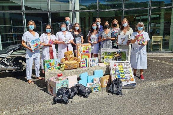 Road-trip au profit des enfants hospitalisés : la distribution a commencé