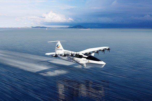 Brittany Ferries veut développer un navire volant d'ici 2028