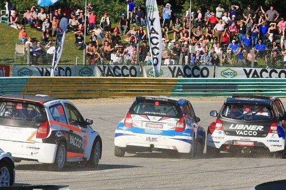 Le championnat de France de rallycross sur le circuit des Ducs