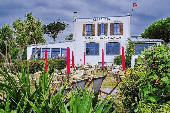 Le restaurant du Fort et des Iles à Chausey