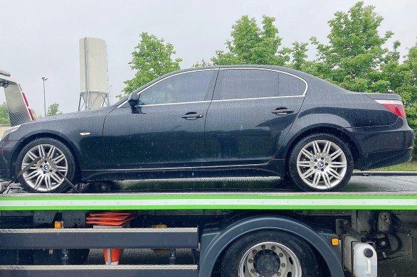 Un jeune conducteur en grand excès de vitesse, sa voiture confisquée