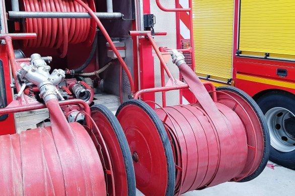 Incendieau sein de l'entreprise de recyclage de métaux Promotrame