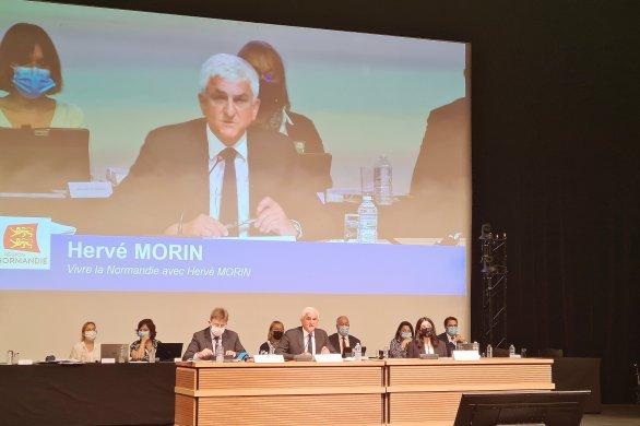 """Hervé Morin réélu président de la Région: """"Ce mandat sera le dernier"""""""