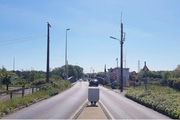 Le pont de Colombelles fermé pour maintenance annuelle