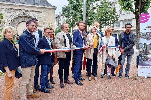 Trois sites du centre de Rouen inaugurés après leur réaménagement
