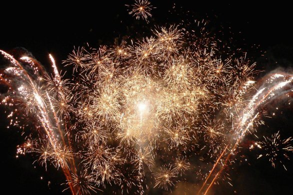 Fête nationale: denombreux feuxd'artificemaintenus