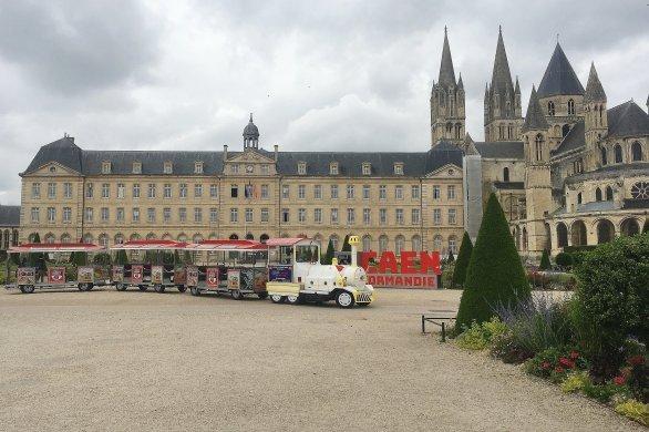 L'incontournable visite de Caen en petit train