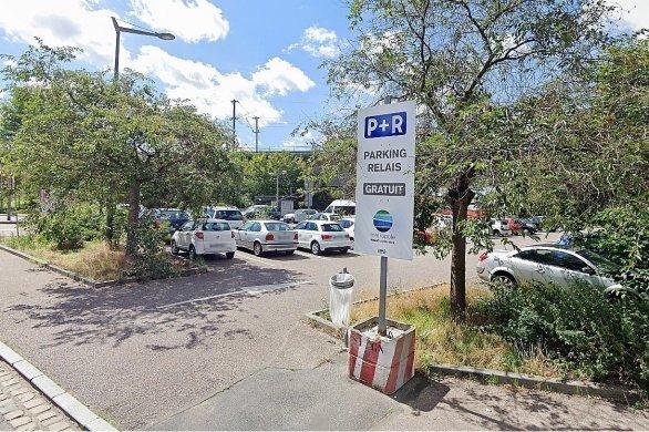 Le parking-relaisdu Fond du Val